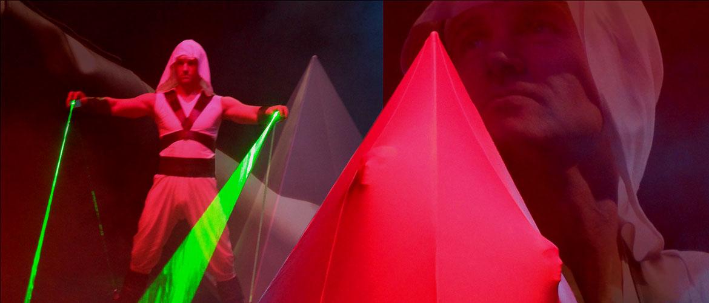 PYRA LASER PYRAMID SHOW | Jens Jensen | Jensen Production